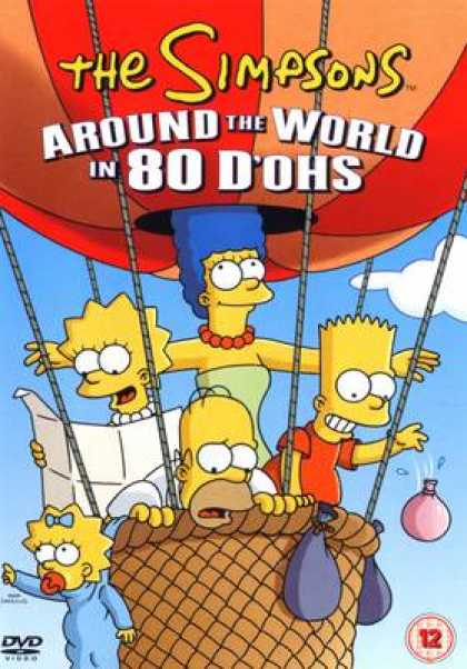 TV Series - The Simpsons Around The World In 80 D'ohs