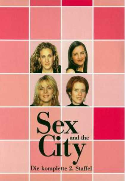 TV Series - Sex And The City - Die Komplette