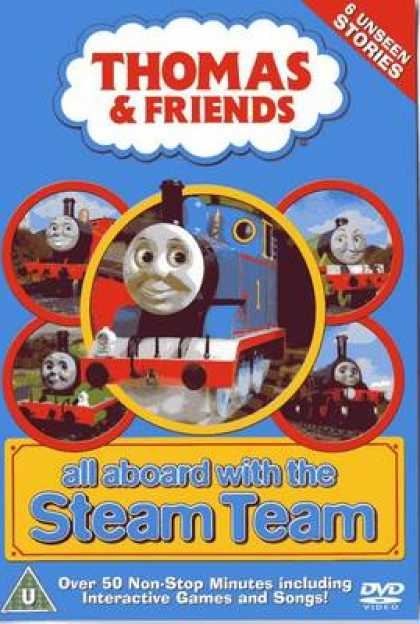 TV Series - Thomas & Friends-All Aboard With The Steam Tea