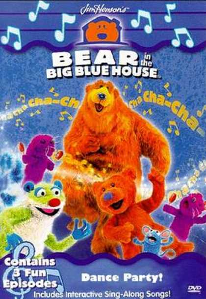 TV Series - Bear In The Big Blue House - Dance Party