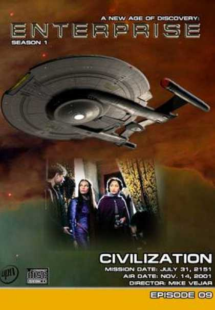 TV Series - Star Trek Enterprise 1x
