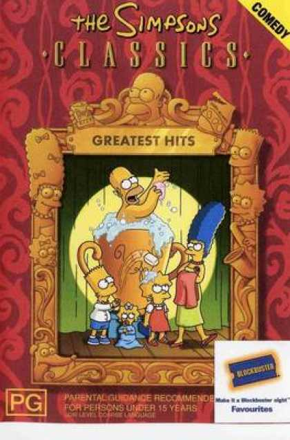 TV Series - The Simpsons Classics Greatest Hits Australian