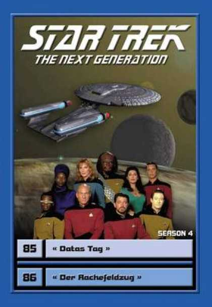 TV Series - Star Trek - The Next Generation - Staffel 4 Fo