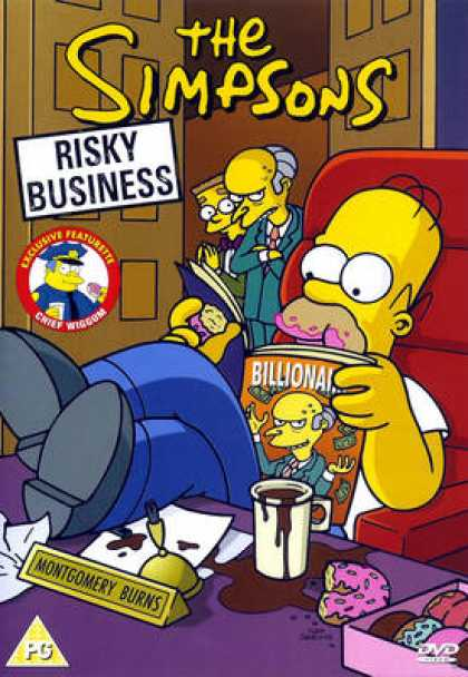TV Series - The Simpsons - Risky Business