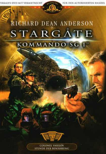 TV Series - Stargate Sg Episodes 3 - 4 German