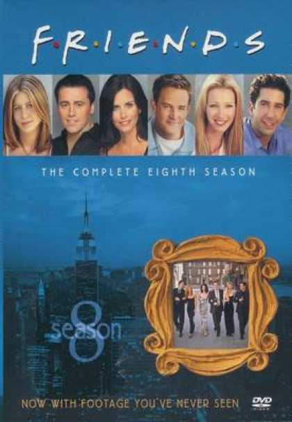 TV Series - Friends The Complete Eighth Season Uk