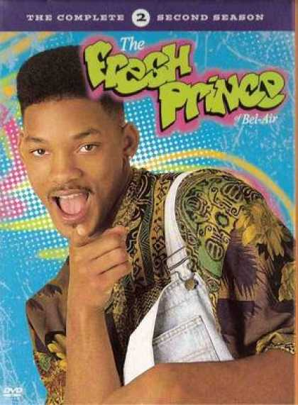 TV Series - The Fresh Prince Of Bel-Air: The Complete Seco