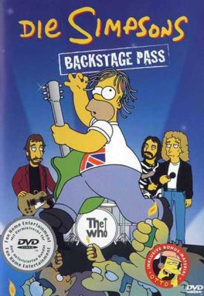 TV Series - Die Simpsons - Backstage Pass