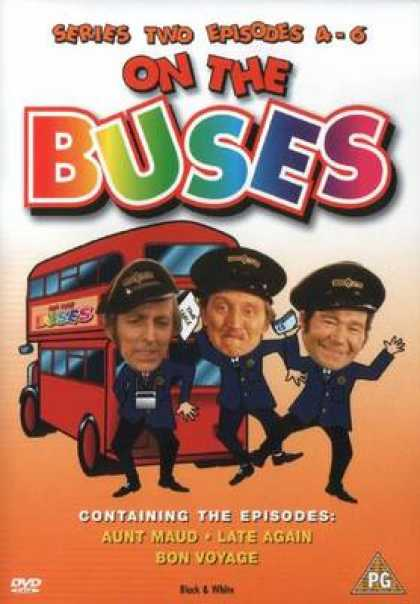 TV Series - On The Buses Series Two Episodes 4