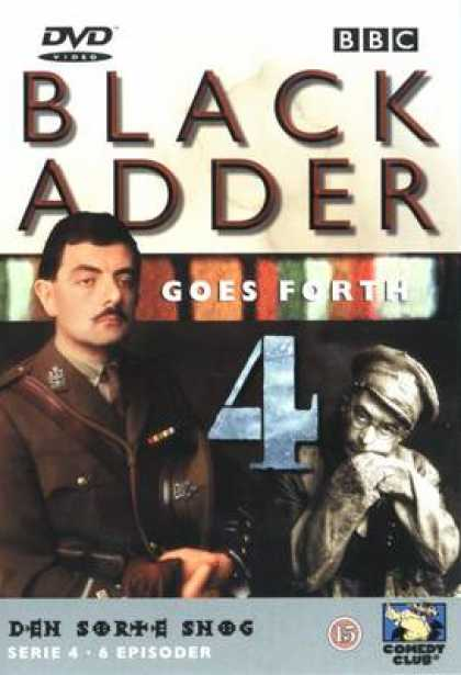 TV Series - The Black Adder 4 DANISH