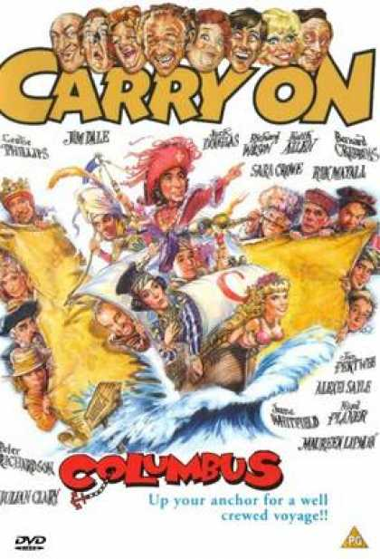 TV Series - Carry On - Carry On Columbus Thinpack