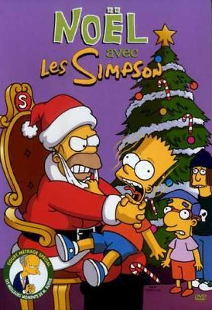 TV Series - The Simpsons Christmas With h Canadian