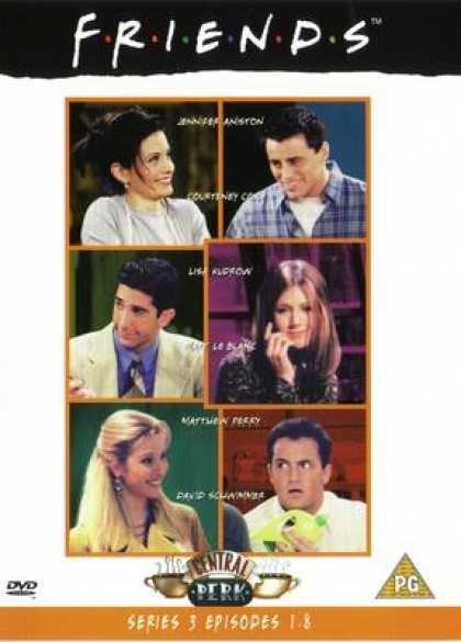 TV Series - Friends Episodes 1-8