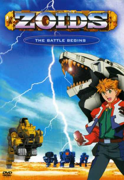 TV Series - Zoids - The Battle Begins
