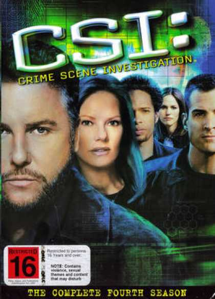 TV Series - C.S.I: The Complete Forth Season ENGLISH