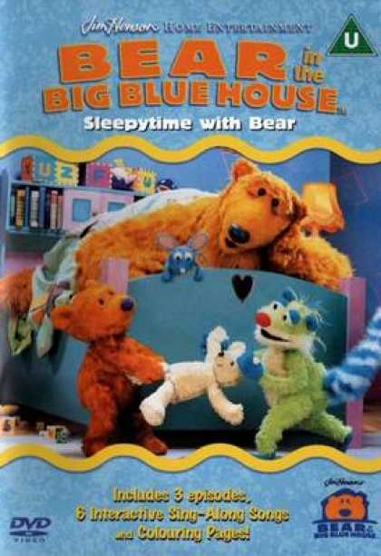 TV Series - Bear In The Big Blue House - Sleepytime With B