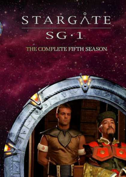 TV Series - Stargate SG1 Box Cover
