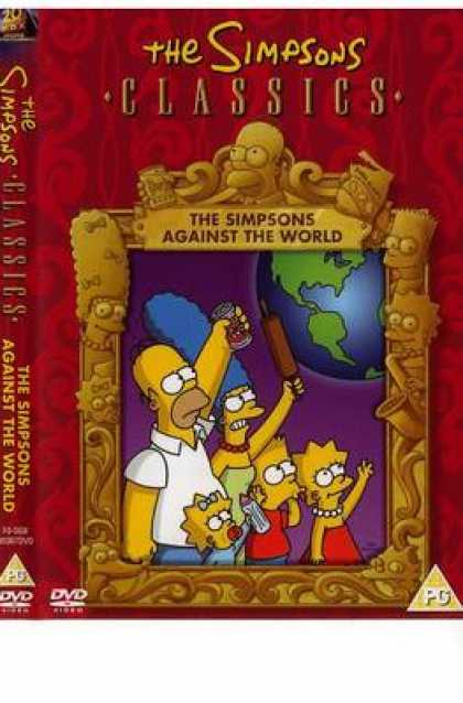 TV Series - The Simpsons Classics The Simpsons Against The