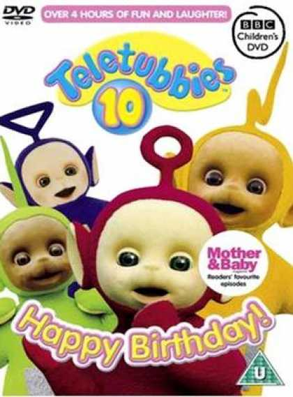 TV Series - Teletubbies 10 Happy Birthday!