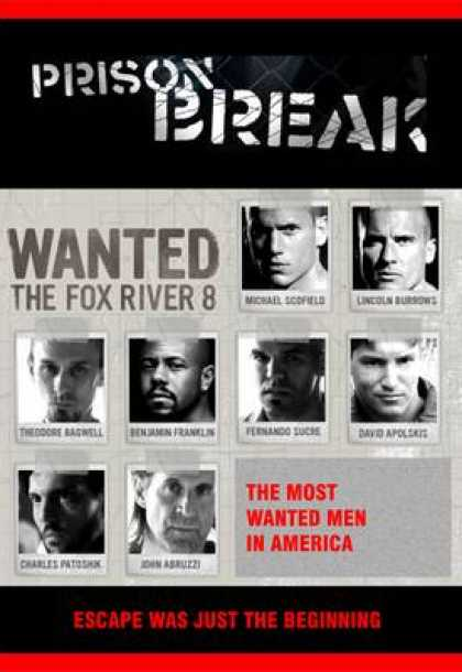 TV Series - Prison Break - UK