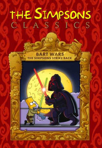 TV Series - The Simpsons Classics Bart Wars