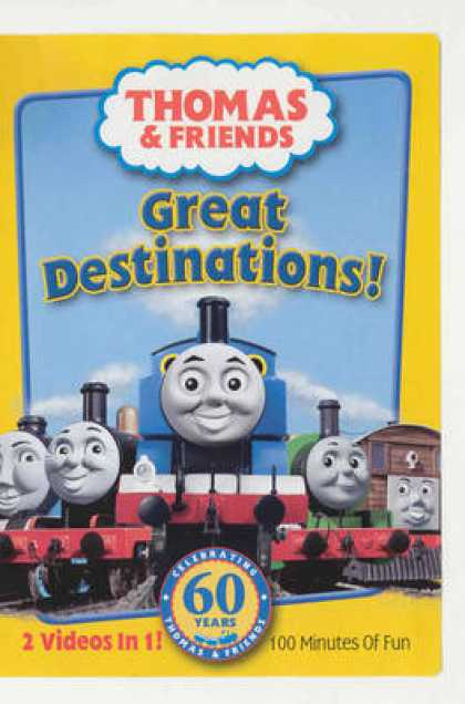 TV Series - Thomas & Friends - Great Destinations