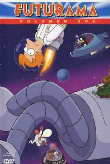 TV Series - Futurama Spanish