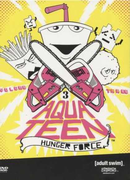 TV Series - Aqua Teen Hunger Force Volume Three