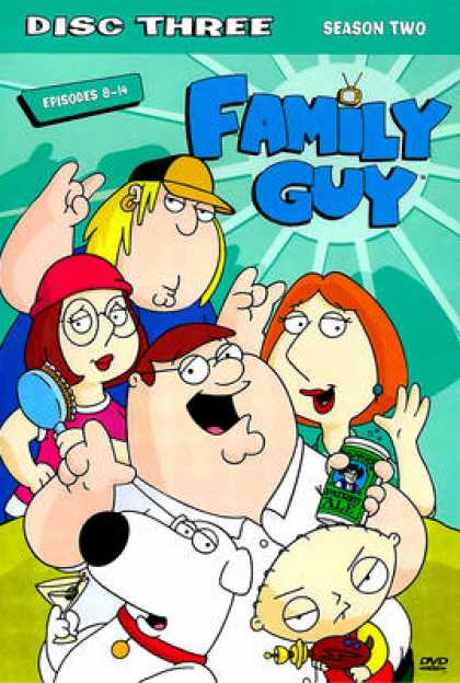 TV Series - Family Guy : Episodes 8-14 (ThinPak)
