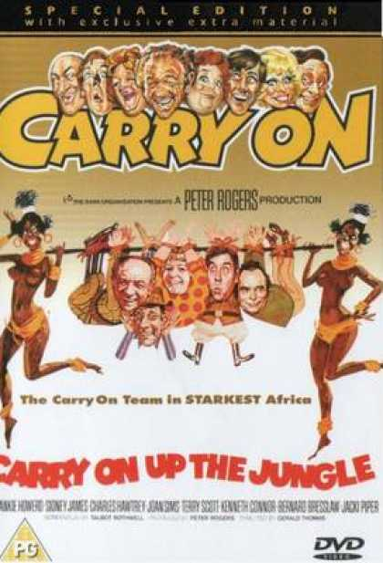 TV Series - Carry On - Carry On Up The Jungle Thinpack