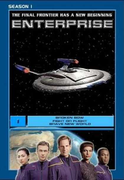 TV Series - Star Trek Enterprise Episodes 1