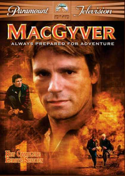 TV Series - Macgyver Dvd