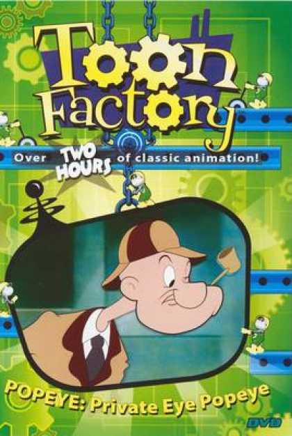 TV Series - Toon Factory - Private Eye Popeye Thinpack