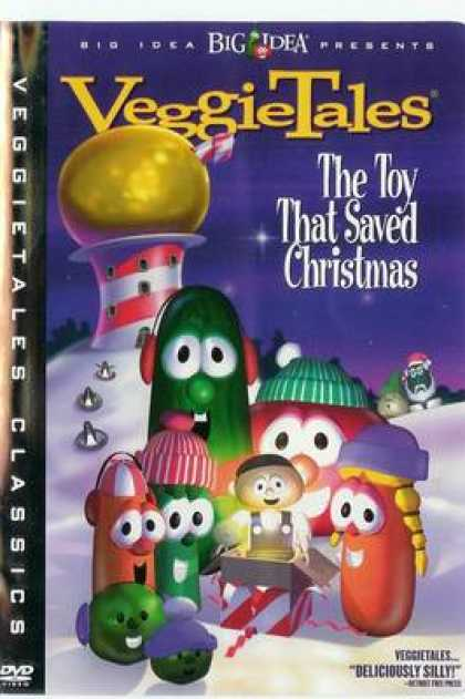 TV Series - Veggie Tales The Toy That Saved Christmas