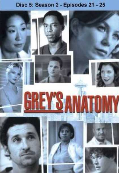 TV Series - Grey's Anatomy Disc5