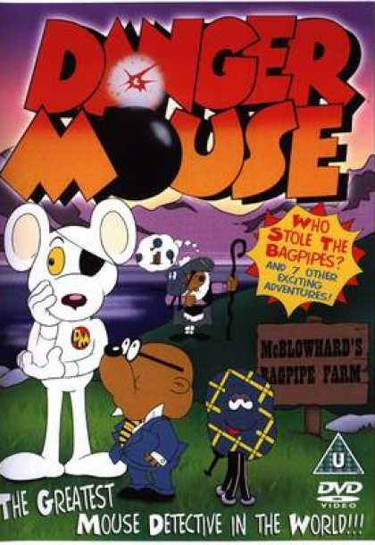 TV Series - Danger Mouse- Who Stole The Bagpipes
