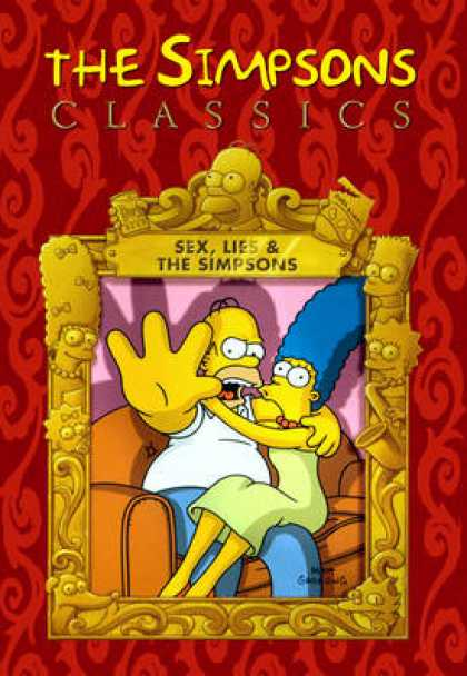 TV Series - The Simpsons Classics Sex Lies