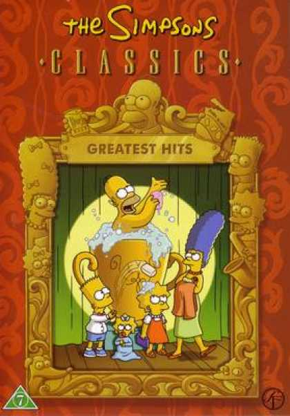 TV Series - The Simpsons Classics Greatest Hits DANISH