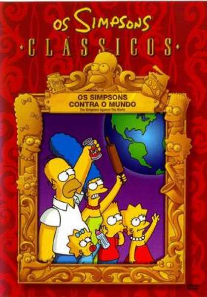 TV Series - The Simpsons Against The World Portuguese