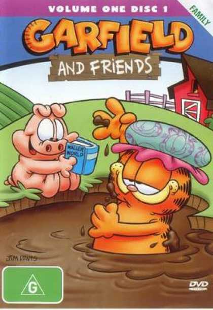TV Series - Garfield And Friends