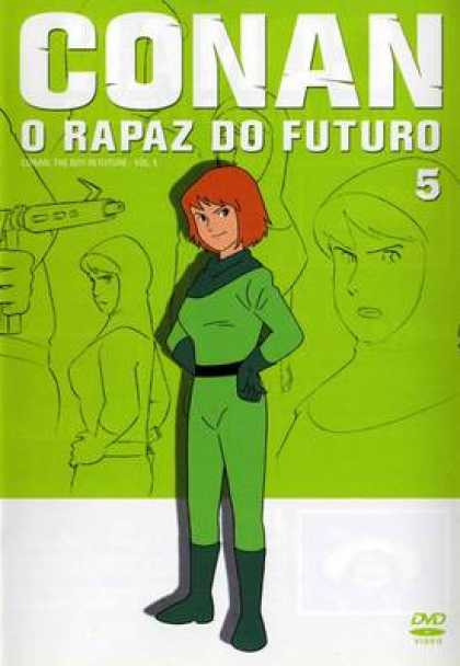 TV Series - Future Boy Conan 5 Portuguese