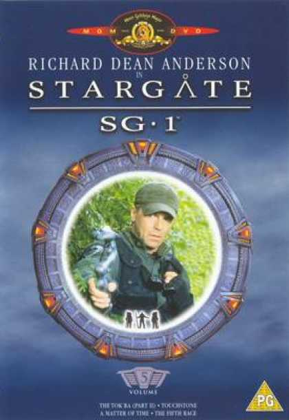 TV Series - Srargate Sg 1 Uk