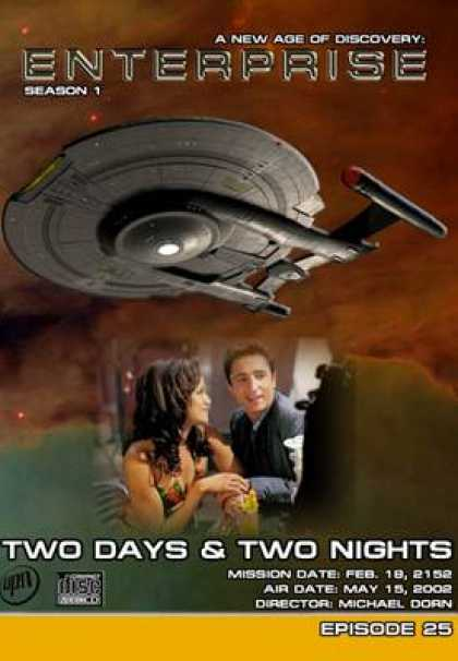 TV Series - Star Trek Enterprise 1x25 Two Days And Two Nig