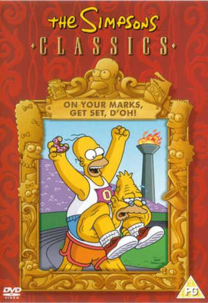 TV Series - The Simpsons Mark Get Set D'oh