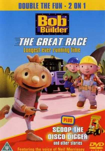 TV Series - Bob The Builder - The Great Race