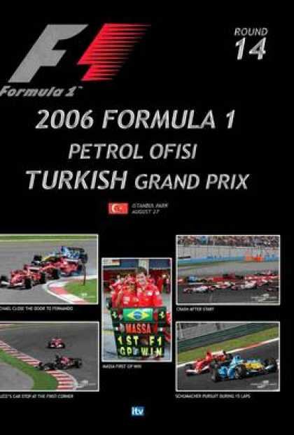 TV Series - Formula 1 - 2006 Turkish Grand Prix Thinpack