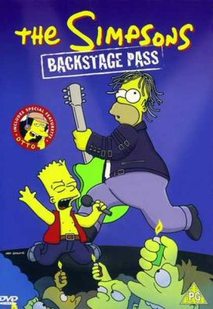 TV Series - The Simpsons Backstage Pass
