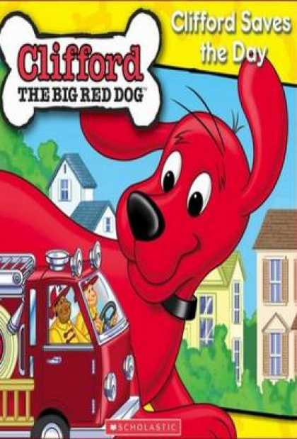 TV Series - Clifford - Clifford Saves The Day Thinpack
