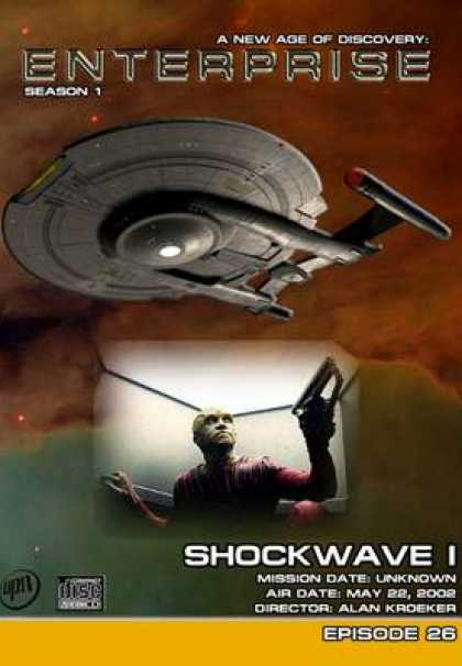 TV Series - Star Trek Enterprise 1x26 Shockwave Part