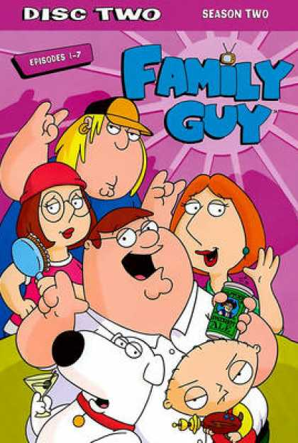 TV Series - Family Guy : Episodes 1-7 (ThinPak)